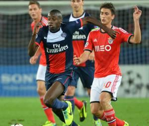 Blaide Matuidi pendant PSG/Benfica, le 2 octobre 2013 au Parc des Princes
