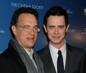 Colin Hanks et Tom Hanks à New York, le 10 mars 2009