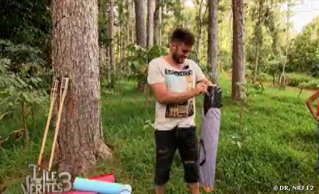 L'île des vérités 3 : les candidats en mode camping