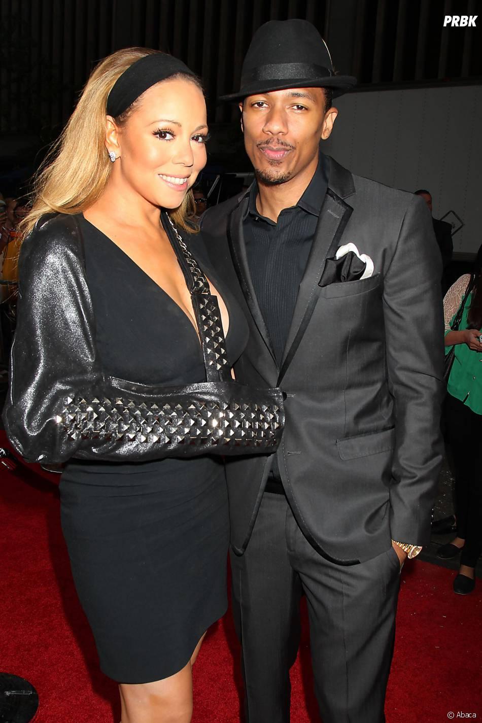 Mariah Carey et Nick Cannon à New York, le 5 août 2013
