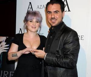 Kelly Osboure : manucure en diamants à 1 million de dollars à l'avant-première de The Black Diamond Affair, le 8 octobre 2013 à Los Angeles