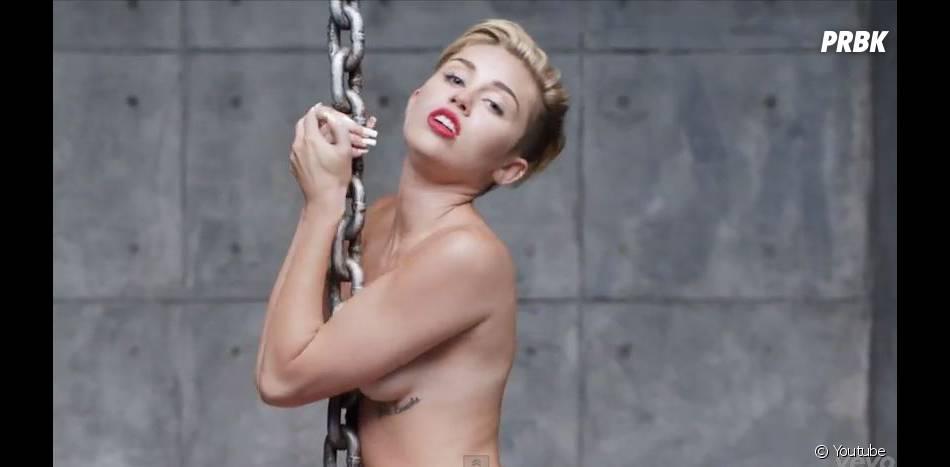 Miley Cyrus : Liam Hemsworth la trouve très sexy dans Wrecking Ball.