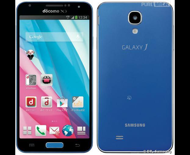 Samsung Galaxy J : un smartphone coloré pour contrer l'iPhone 5C
