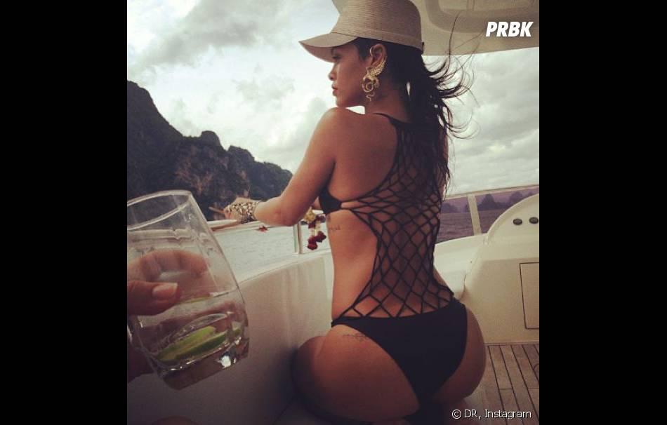 Rihanna, les fesses à l'air sur Instagram