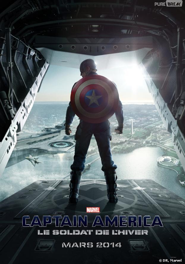 Captain America 2 - Le soldat de l'hiver : nouvelle affiche