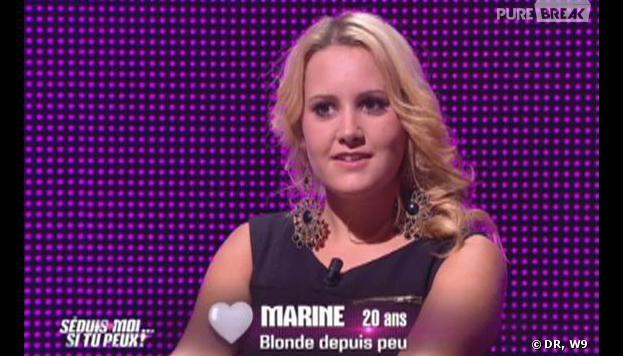 Séduis-moi si tu peux : Marine, 20 ans, blonde puis peu