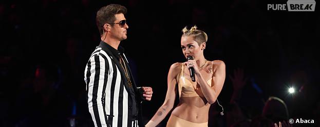 Miley Cyrus et Robin Thicke aux MTV VMA 2013