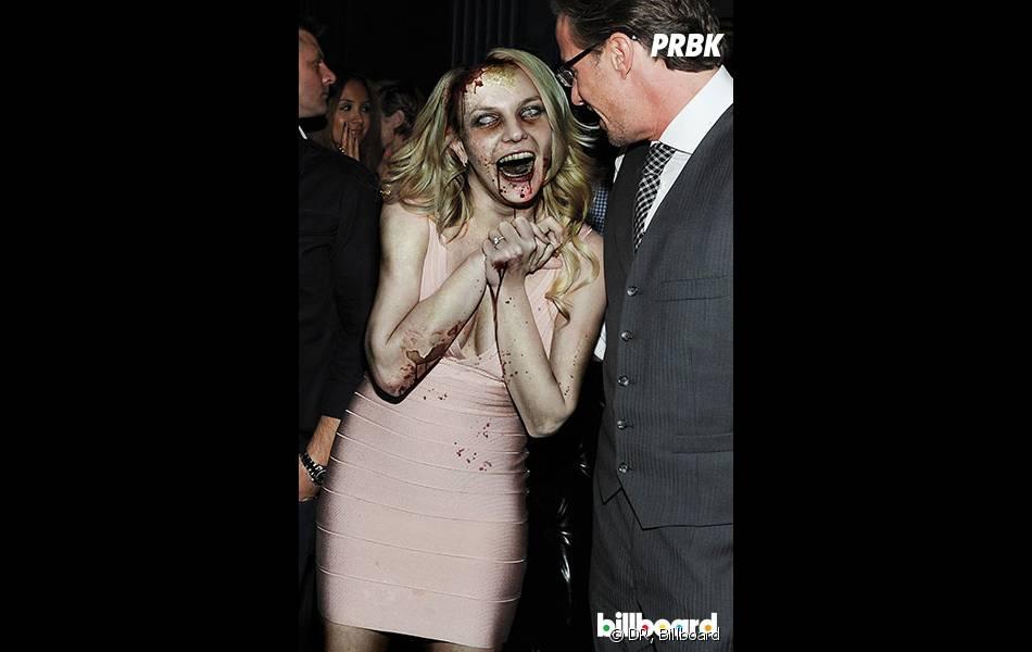Britney Spears en zombie pour Halloween