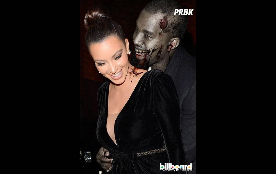 Kanye West en zombie pour Halloween