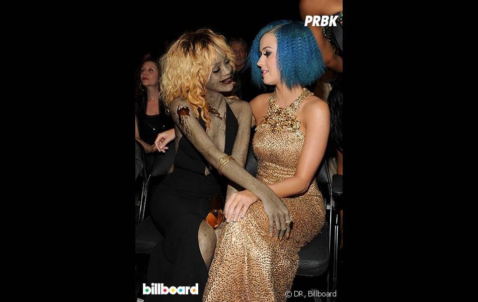 Rihanna en zombie pour Halloween