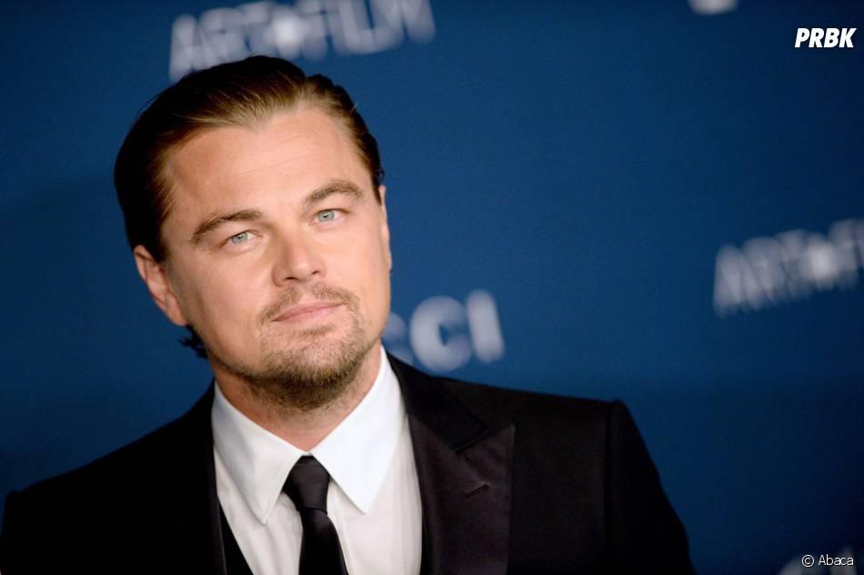 Leonardo DiCaprio pour honorer Martin Scorsese aux LACMA le 2 novembre 2013