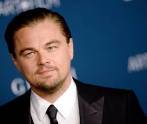 Leonardo DiCaprio présent pour honorer Martin Scorsese aux LACMA le 2 novembre 2013