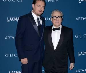 Martin Scorsese et Leonardo DiCaprio aux LACMA le 2 novembre 2013
