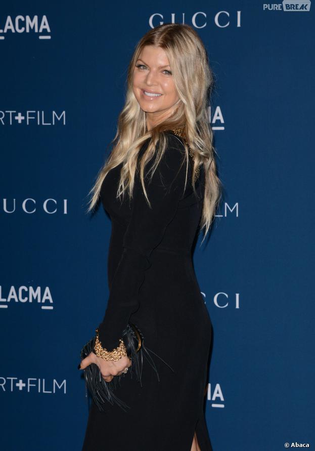 Fergie présente pour honorer Martin Scorsese aux LACMA le 2 novembre 2013