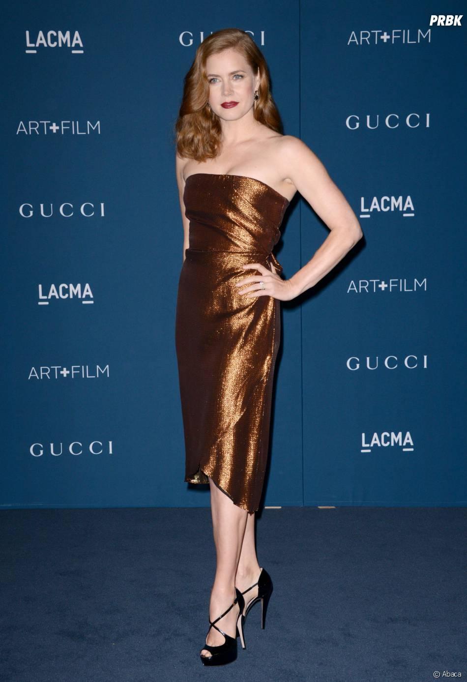 Amy Adams pour honorer Martin Scorsese aux LACMA le 2 novembre 2013