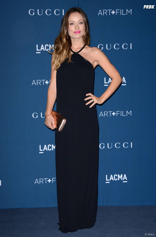 Olivia Wilde pour honorer Martin Scorsese aux LACMA le 2 novembre 2013