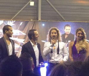 Ice Show : Gwendal Peizerat accompagné de Merwan Rim et Tatiana Golovin
