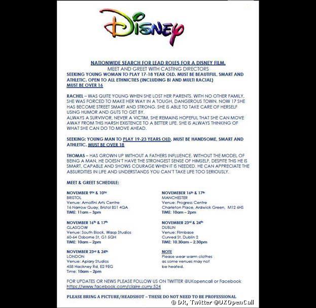 Star Wars 7 : Disney lance le casting ?