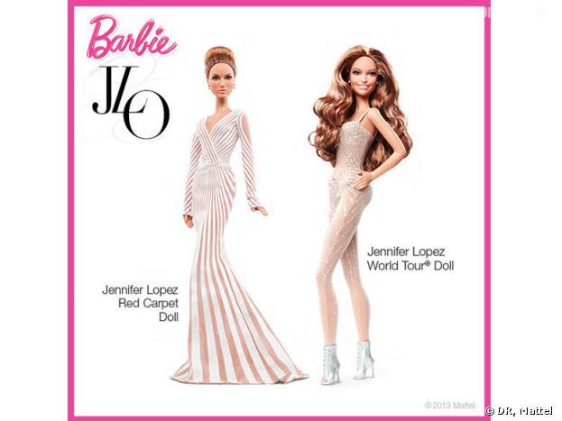 Jennifer Lopez : des poupées Barbie à son effigie râtées