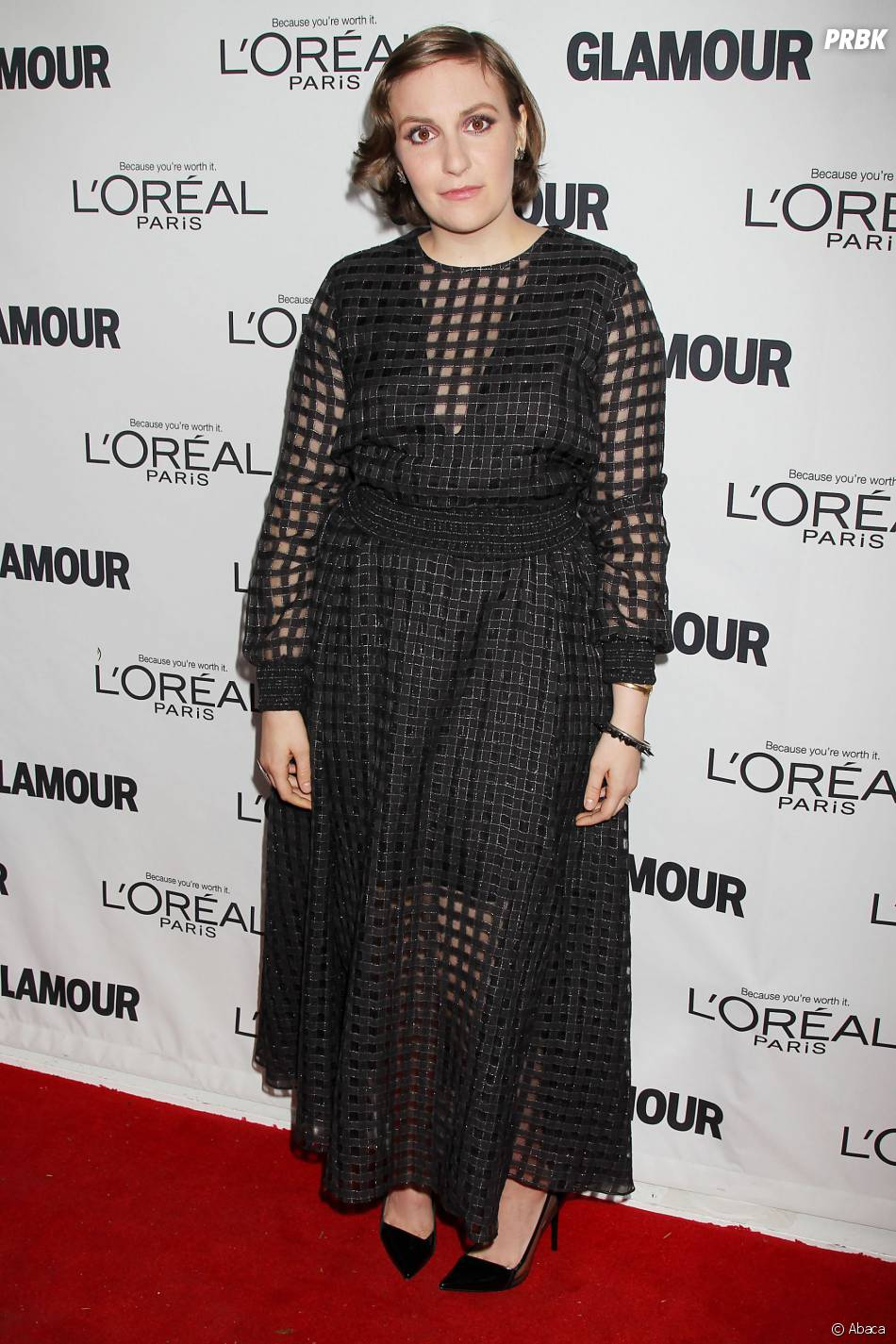 Lena Dunham aux Glamour Women Of The Year Awards 2013