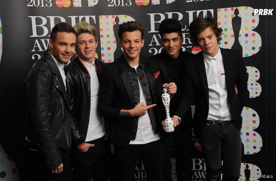 One Direction aux Brit Awards 2013