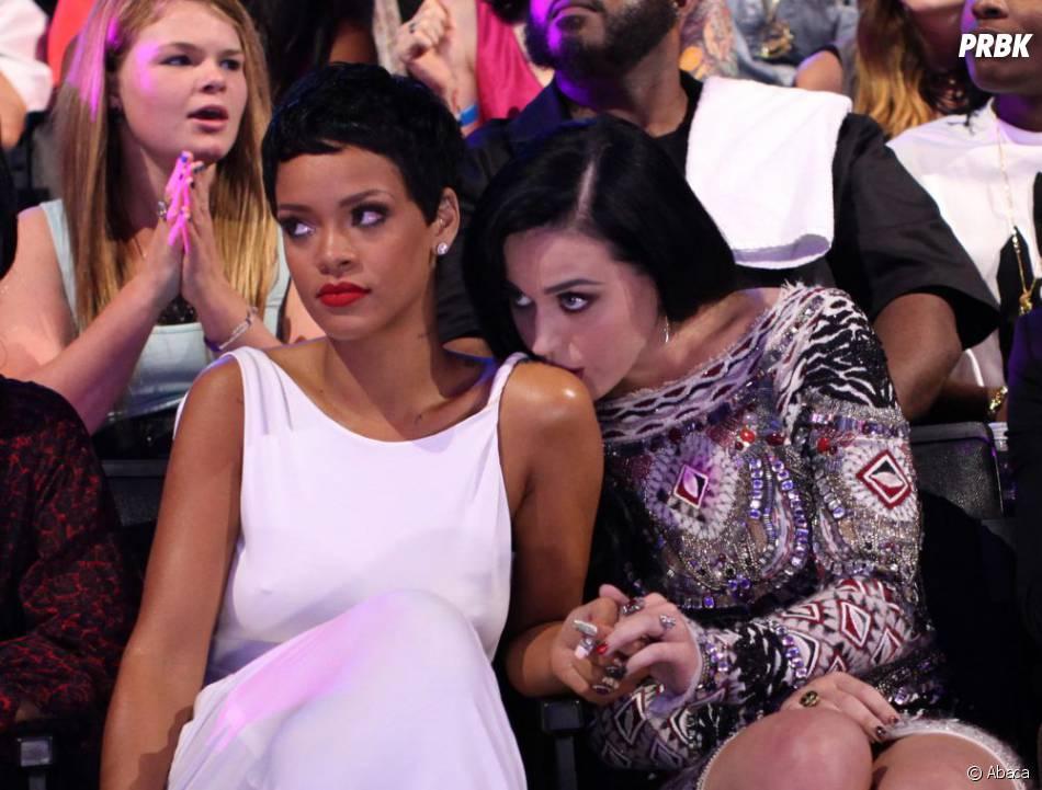 Katy Perry et Rihanna aux MTV VMA 2012