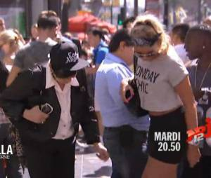 Allo Nabilla : Mémé Livia découvre Hollywood Boulevard