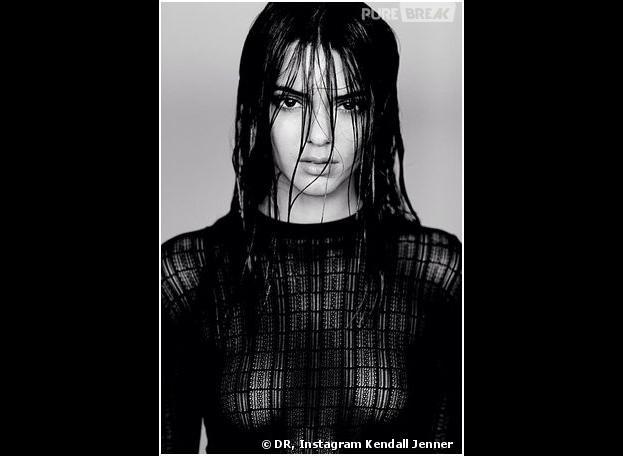 Kendall Jenner: seins nus dans un nouveau shooting