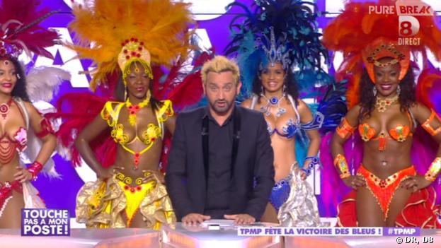 Cyril Hanouna en blond : pari tenu après la qualification des Bleus à la Coupe du Monde 2014