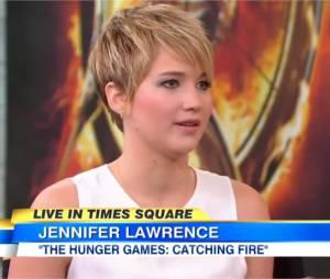 Jennifer Lawrence répond aux rumeurs de la presse dans Good Morning America