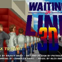 "Waiting in Line 3D : le jeu le plus nul du monde ""enfin"" disponible"