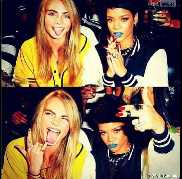 """Rihanna et Cara Delevingne en """"guerre"""" contre le célibat"""