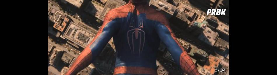 The Amazing Spider-Man 2 : le nouveau costume en action