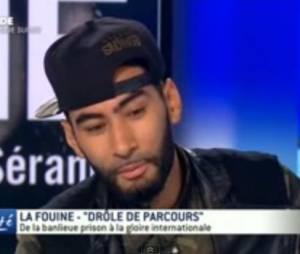 """La Fouine invité de TV5 Monde pour parler de son autobiographie """"Drôle de parcours"""""""