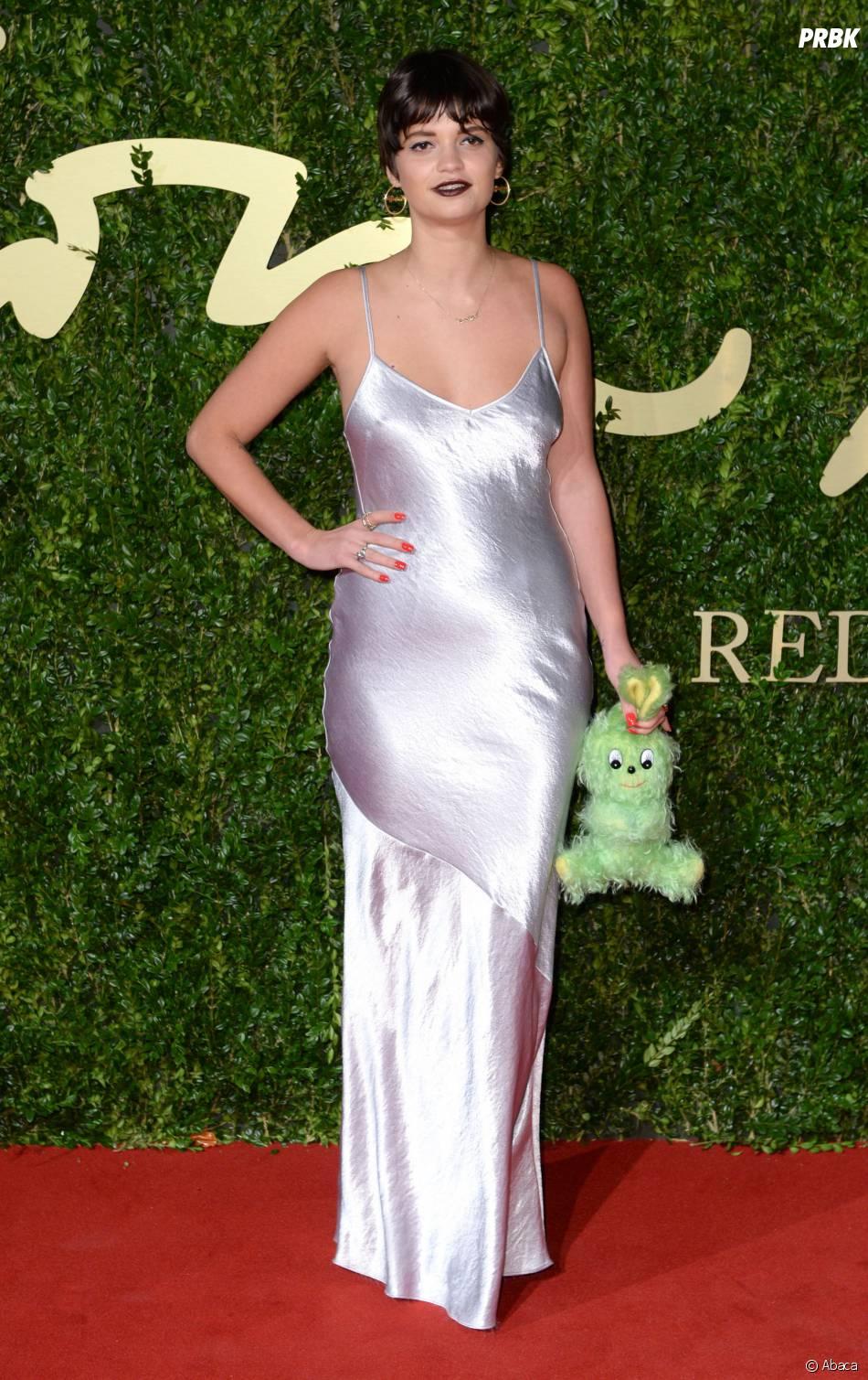 Pixie Gedolf aux British Fashion Awards à Londres, le 2 décembre 2013