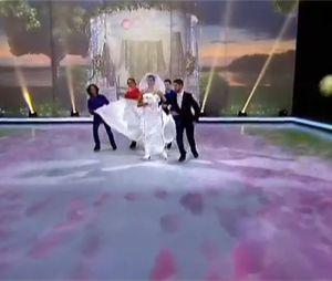 Ice Show : Chloé Mortaud sur la glace pendant le prime 2