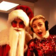 Miley Cyrus : une photo coquine avec le Père Noël dévoilée sur Twitter