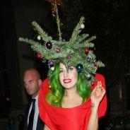 Lady Gaga - Sapin de Noël et dreadlocks : ses coiffures délirantes du week-end