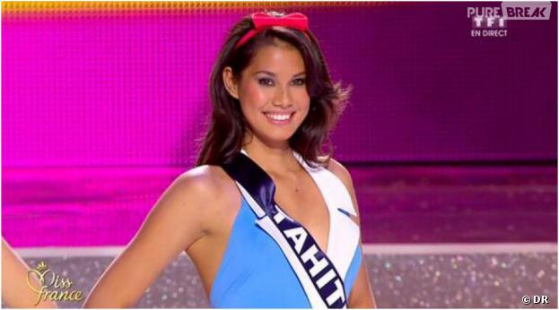 Mehiata Riaria, aka Miss Tahiti