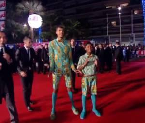 NMA 2014 : Stromae lors de son arrivée sur le tapis rouge à Cannes