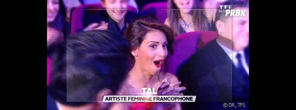 NMA 2014 : Tal reçoit son trophée d'artiste féminine de l'année