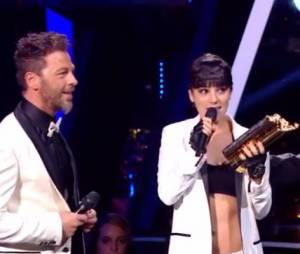 NMA 2014 : Christophe Maé reçoit un prix d'honneur des mains d'Alizée