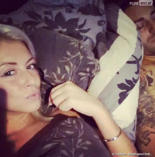 Secret Story : Stéphanie Clerbois poste une photo d'elle et de son mec sur Twitter