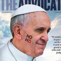 """Pape François : un magazine gay le nomme """"personnalité de l'année"""""""