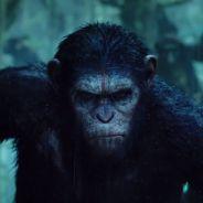 La Planète des singes, l'affrontement : bande-annonce entre chaos et singe flippant