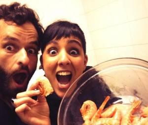 Top Chef 2013 : Yoni et Naoëlle en remettent une couche avec le vol de crevettes