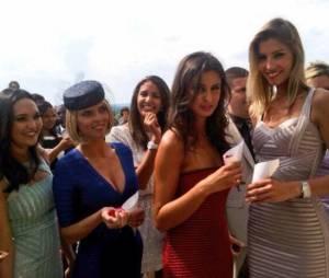 Les Miss France réunies au mariage de Rachel Legrain-Trapani, en juin 2013