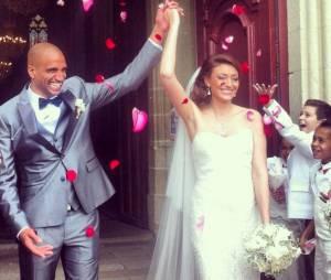 Rachel Legrain-Trapani(Miss France 2007) a épousé Aurélien Capoue le samedi 8 juin 2013