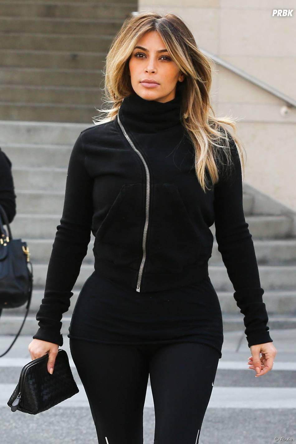 Kim Kardashian à Los Angeles le 21 décembre 2013