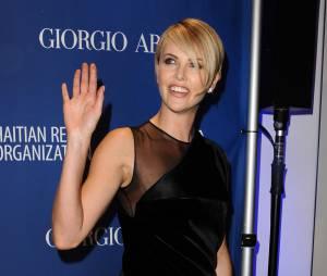Charlize Theron au gala Help Haiti Home, samedi 11 janvier 2014 à Los Angeles